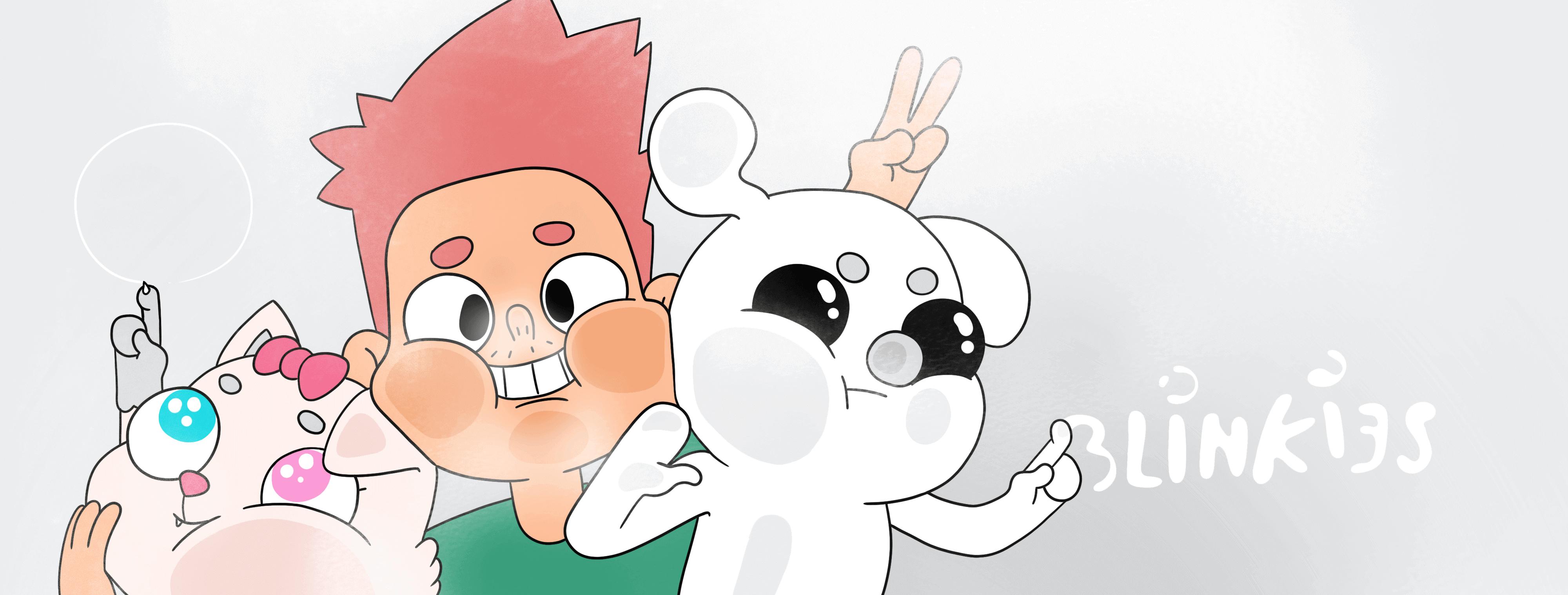 Top jauns animācijas komēdijseriāls Blinkijs