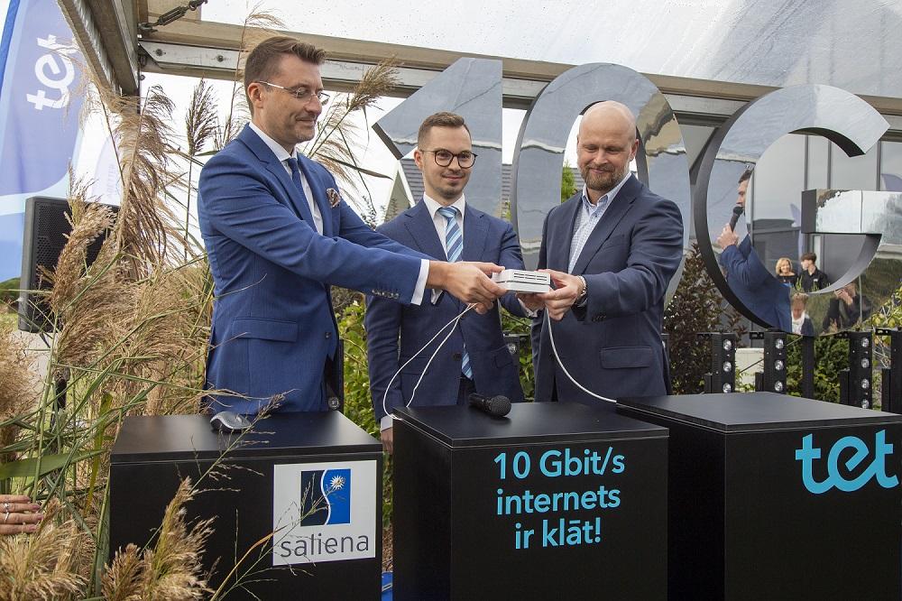 Latvijā ir ienācis pasaulē jaudīgākais 10 Gbit/s optiskais internets