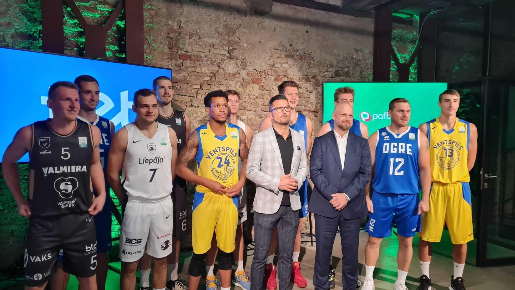 Ar Tet atbalstu Pafbet LAT-EST basketbola čempionu dueli piektdien translēs sportacentrs.com