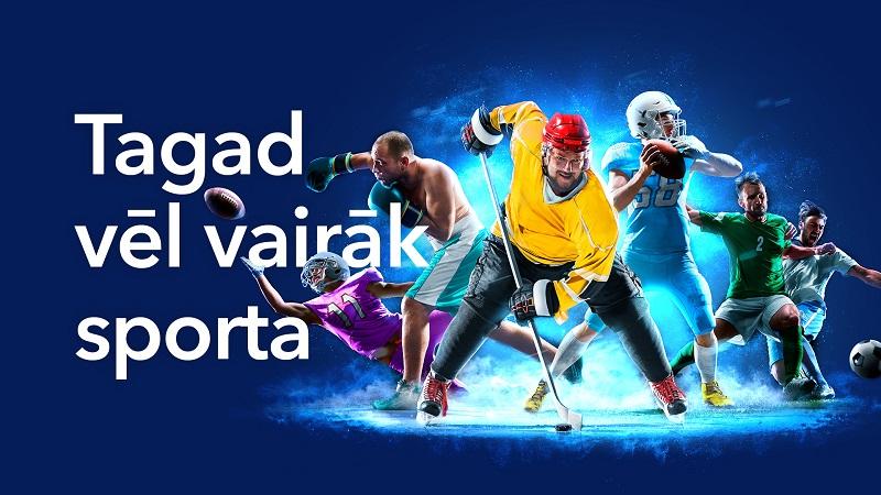 Vērienīga vienošanās Tet televīzijas klientiem nodrošinās TV3 sporta kanālus