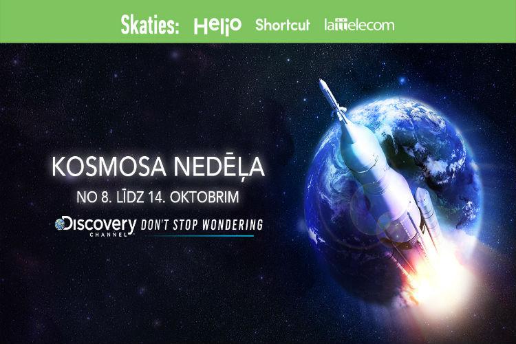 Kosmosa nedēļa Discovery kanālā no 8. līdz 14. oktobrim