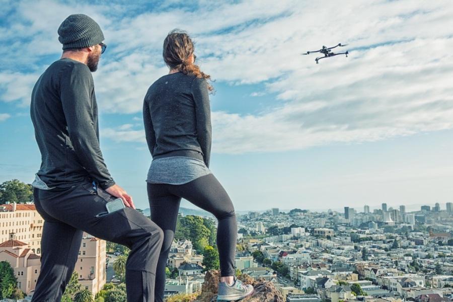 Latvijā sākas jaunā AirDog drona tirdzniecība